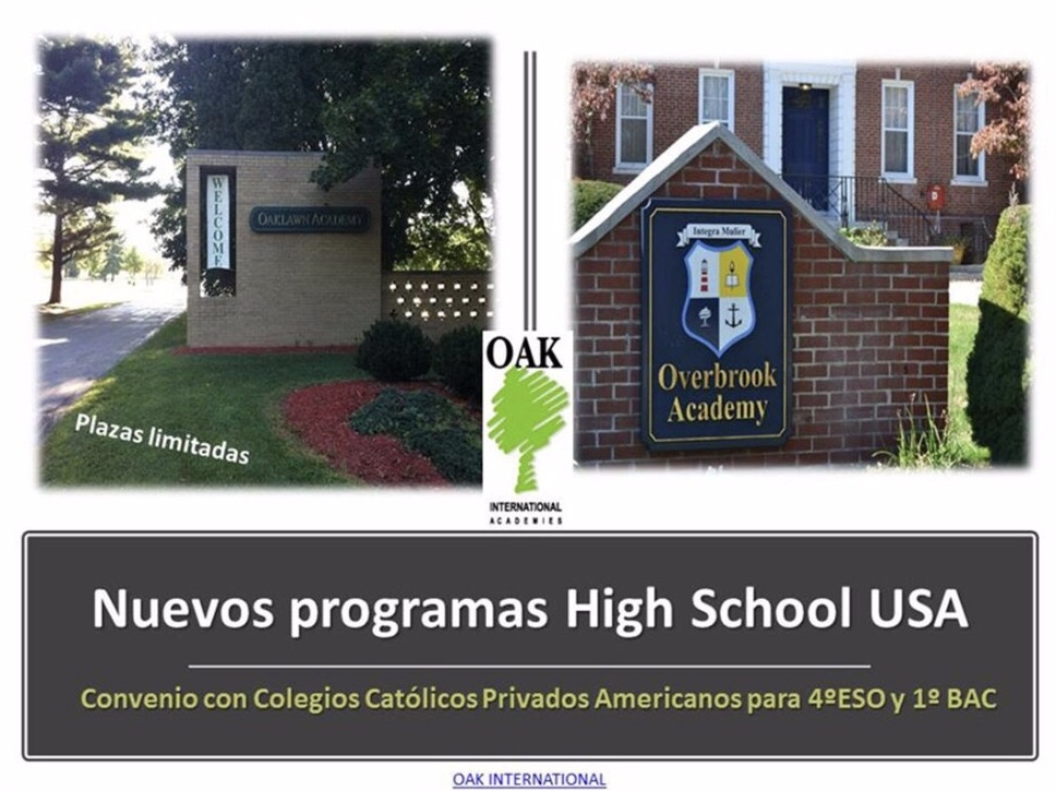 Nuevo programa de High School en USA Colegio Privado Madrid