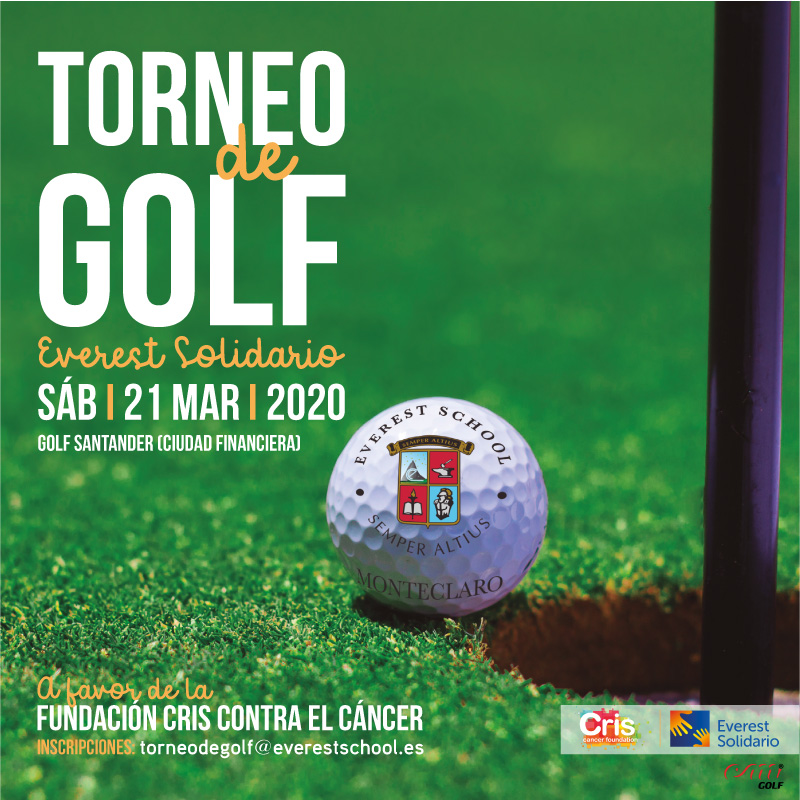 I Torneo de Golf Everest School Colegio Privado Madrid