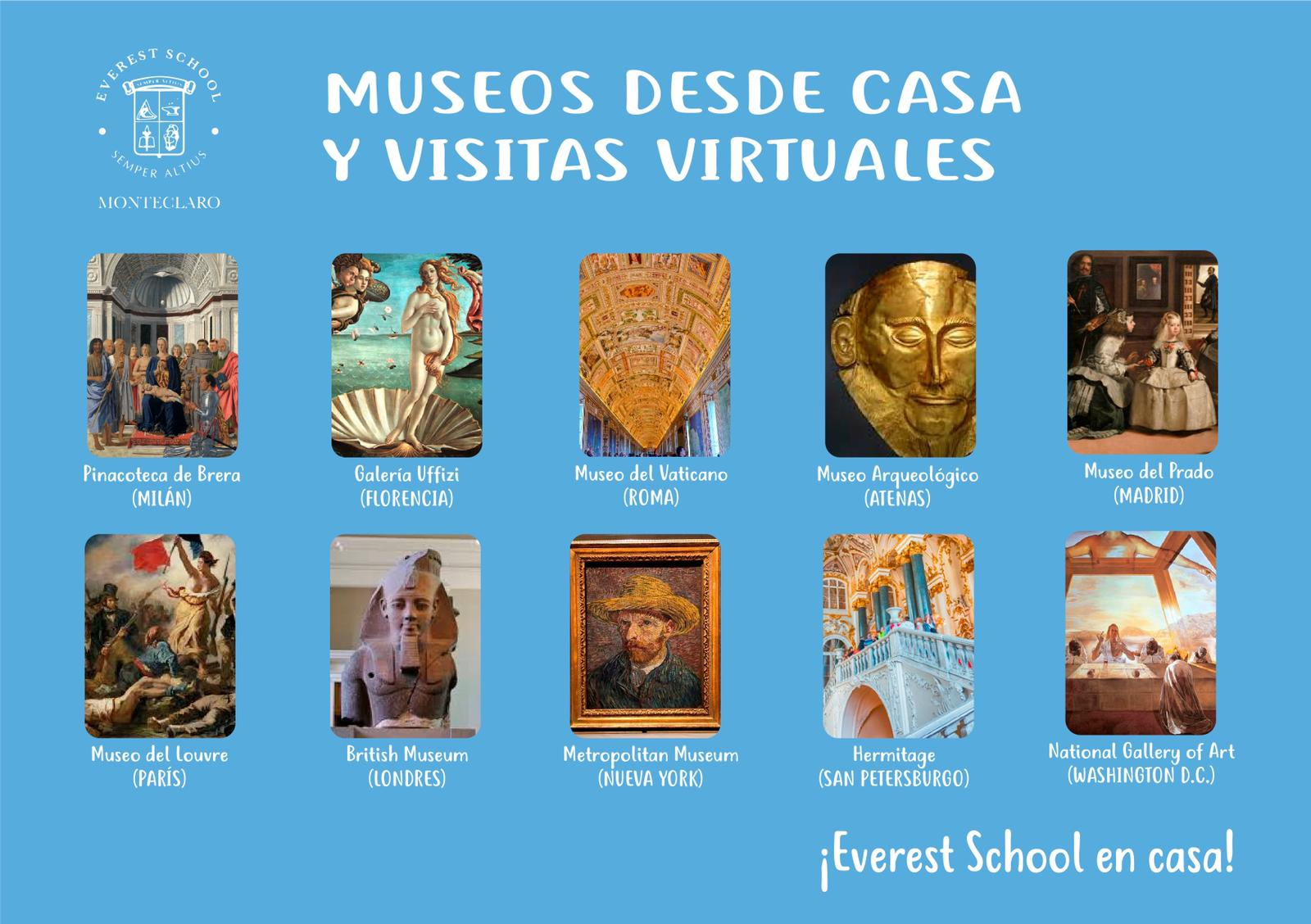 Everest School at home! Colegio Privado Madrid
